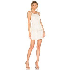 NWT Lovers + Friends Thistle Mini Dress in Ivory